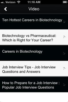 Biotech Jobs apk screenshot