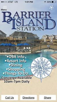 Barrier Island Station poster