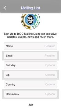 BICC apk screenshot