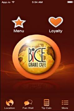 Bice Grand Cafe poster