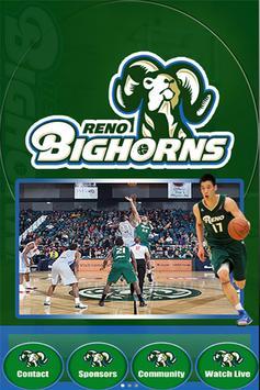 Reno Bighorns Poster