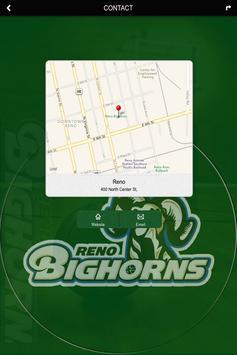 Reno Bighorns captura de pantalla 1
