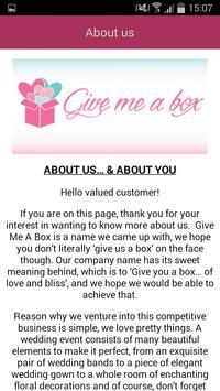 Give Me A Box apk screenshot
