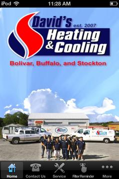David's Heating & Cooling poster