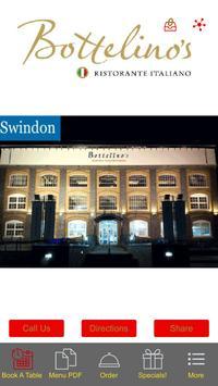 Bottelino's Ristorante Swindon poster