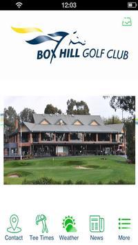 Box Hill Golf Club poster