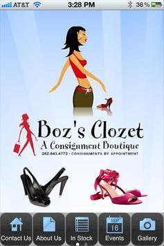 Boz's Clozet poster