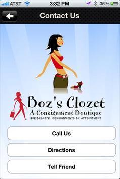 Boz's Clozet screenshot 1