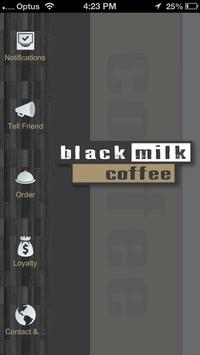 Black Milk Coffee poster