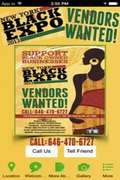 Black Expo poster