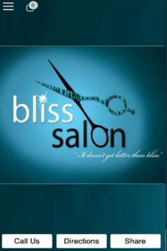 Bliss Salon poster