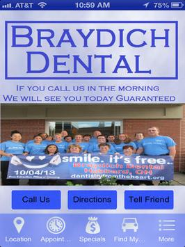 Braydich Dental poster