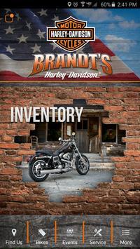 Brandt's Harley-Davidson poster