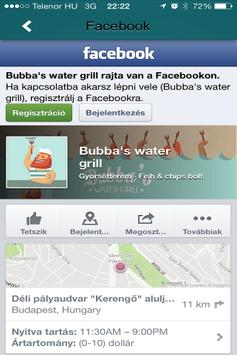 Bubba's Water Grill screenshot 1