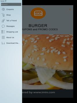 Burger Coupons - I'm In! apk screenshot
