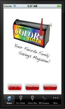 Community Color Mailer poster