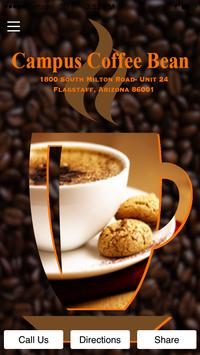 Campus Coffee Bean poster
