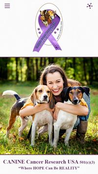 Canine Cancer Research USA poster