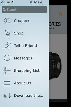 Camera Accessories Coupon-ImIn screenshot 1