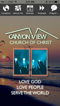 Canyon View Church Of Christ poster