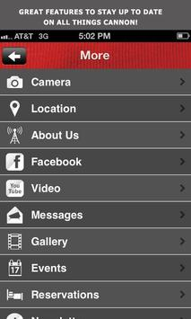 Cannon Live screenshot 1