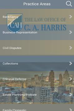 C. A. Harris Law screenshot 3