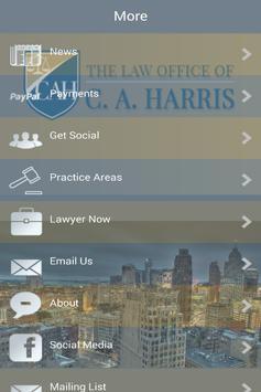 C. A. Harris Law screenshot 1