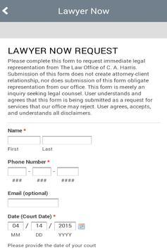 C. A. Harris Law screenshot 4