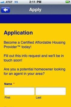 Certified Affordable Housing P apk screenshot