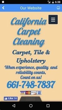 California Carpet Cleaning apk screenshot