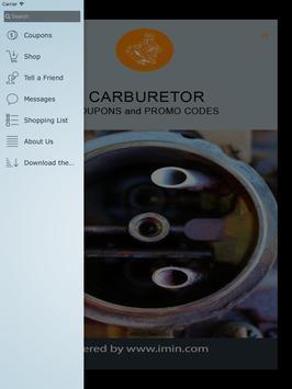 Carburetor Coupons - I'm In! apk screenshot