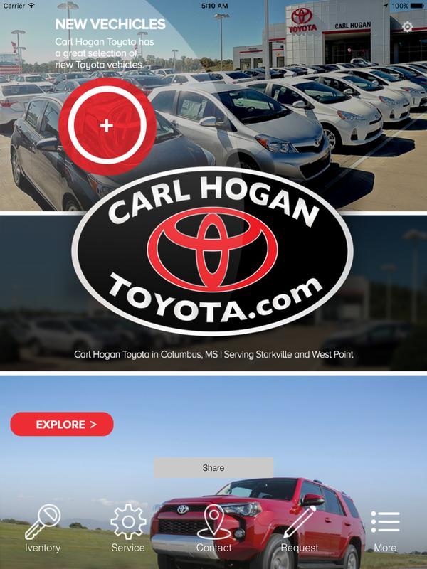 Carl Hogan Toyota Columbus Screenshot 3