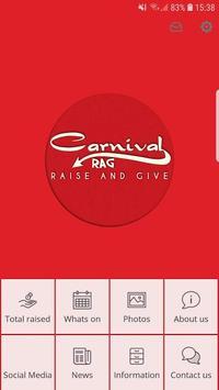 Carnival RAG poster