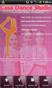 Casa Dance Studio poster