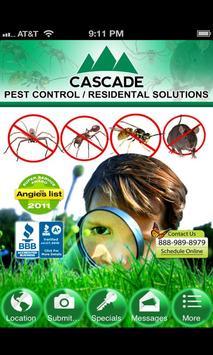 Cascade Pest Control poster
