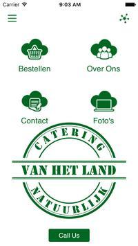 Catering van het Land poster
