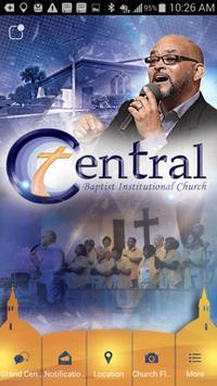 Central Baptist poster