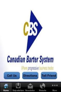 Canadian Barter System poster