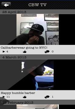 CaliBarberWear apk screenshot
