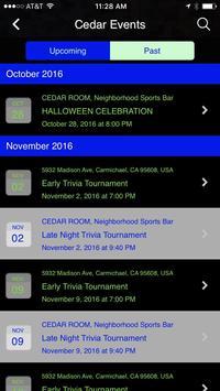 Cedar Room apk screenshot