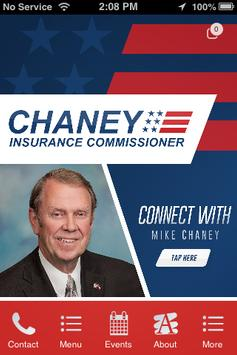 Mike Chaney, MS Insurance poster
