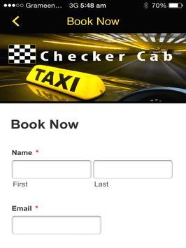 Checker Cab in Fredericton screenshot 4
