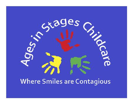 Ages in Stages Childcare poster