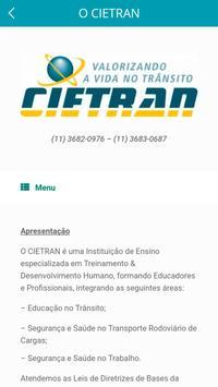 CIETRAN apk screenshot