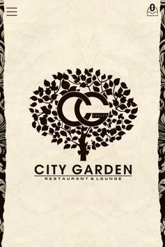 CITY GARDEN पोस्टर