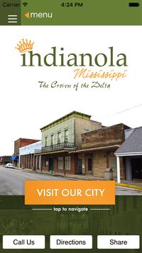 City of Indianola MS poster