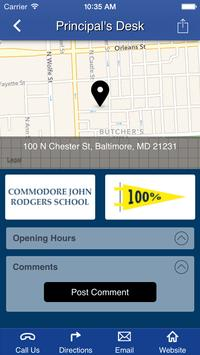 Commodore John Rodgers School apk screenshot