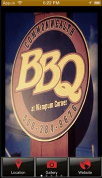 Commonwealth BBQ poster