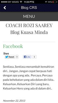 Coach Rozi apk screenshot