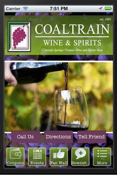 Coaltrain Wine & Spirits poster